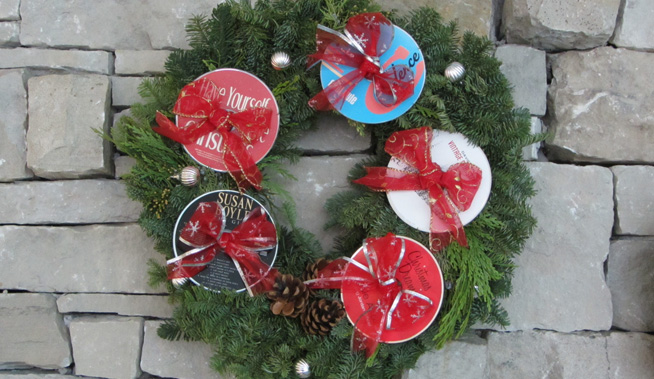 cd-wreath