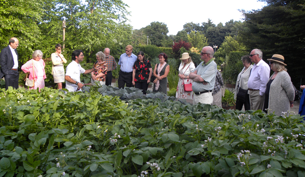 tour of the kitchen garden by PZ