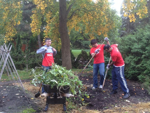 PwC Volunteer Team October 4, 2012