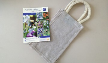fall bulbs for pollinators in canvas bag