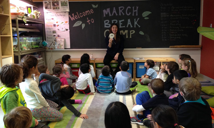 March Break Full Week Camp (Ages 4 to 7)