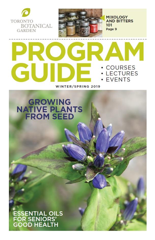 Adult Ed program guide cover - Toronto Botanical ...