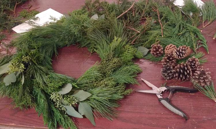 Seasonal Wreath Workshop
