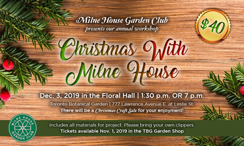 Christmas with Milne House