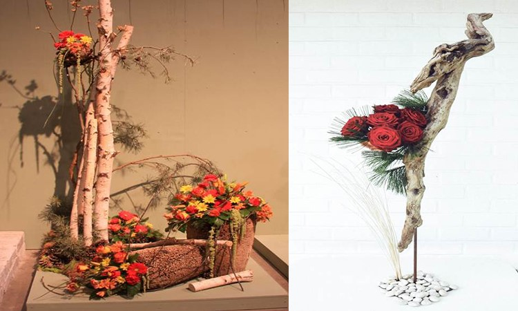 Designing with Branches, Wood, Foliage, Fruits and Vegetables