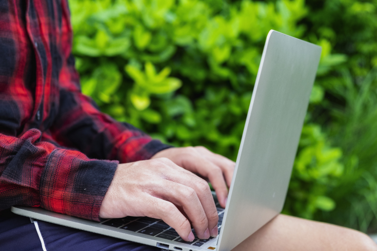 Online Learning Computer and Greenery